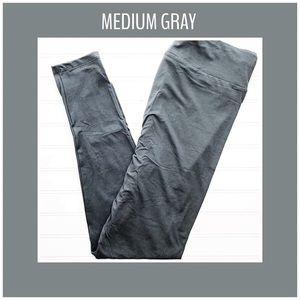 OS or TC Gray LuLaRoe Leggings